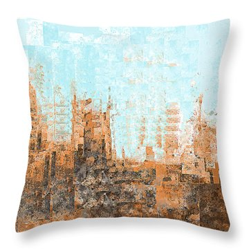 Arizona Abstract Throw Pillow