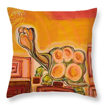 Arizona Turtle Throw Pillow