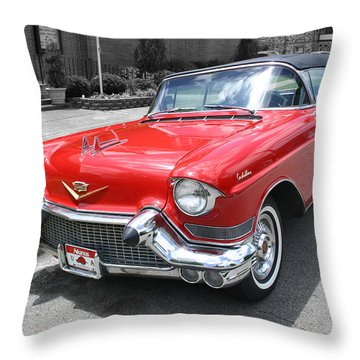Arkansas Caddy Throw Pillow