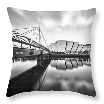 Armadillo And Bells Bridge Throw Pillow by John Farnan