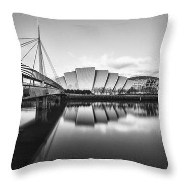 Armadillo Glasgow Scotland Throw Pillow by John Farnan
