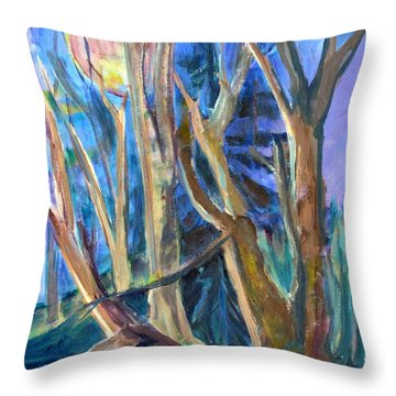 Armageddon Or Twilight Coming Throw Pillow
