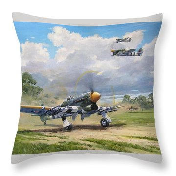 'armed And Dangerous - Typhoon' Throw Pillow