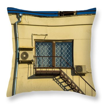 Armed To The Roof Throw Pillow by Alexander Senin