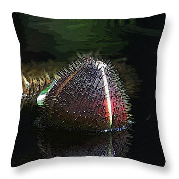 Nature's Armour Throw Pillow