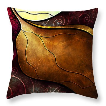 Arms Of The Angel Throw Pillow