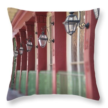 Throw Pillow featuring the photograph Arnauds by Heather Green