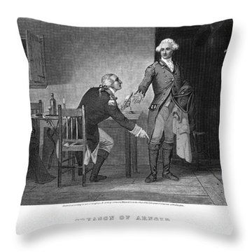 Arnold & Andre, 1780 Throw Pillow by Granger