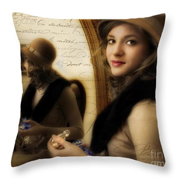 Aromatique Throw Pillow