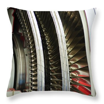 Around And Around Throw Pillow