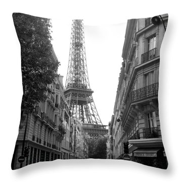 Throw Pillow featuring the photograph Around The Corner by Lisa Parrish