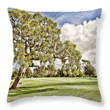 Howey-in-the-hills Throw Pillows