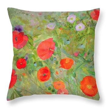 Arpeggiando Throw Pillow by Ann Patrick