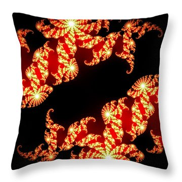 Array Of Lights Throw Pillow