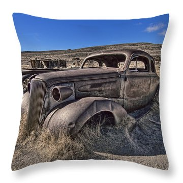 Arrested Decay  Throw Pillow by Jason Abando