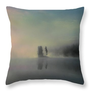 Arrival Of Dawn Throw Pillow by Shirley Sirois