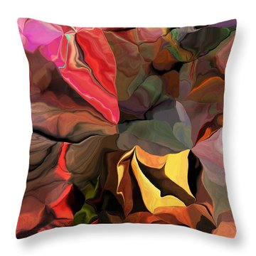 Throw Pillow featuring the digital art Arroyo  by David Lane