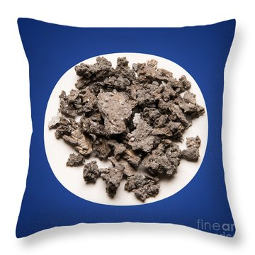 Arsenic Throw Pillow by Charles D Winters