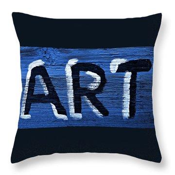 ART Throw Pillow by Chris Berry