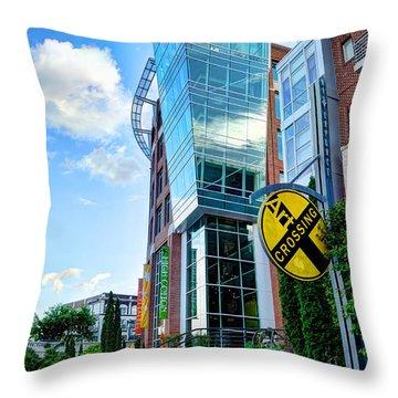 Art Crossing Throw Pillow