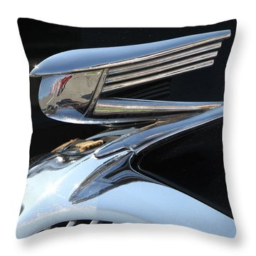 Art Deco Auto Throw Pillow
