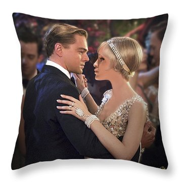 Art Deco Ball  Throw Pillow