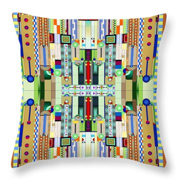 Stained Glass Throw Pillows
