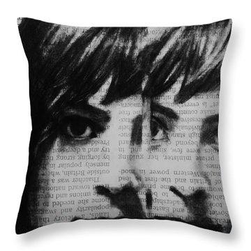 Art In The News 22 Throw Pillow