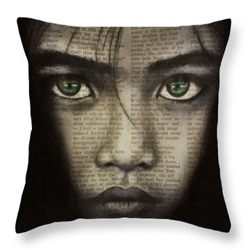 Art In The News 45 Throw Pillow by Michael Cross