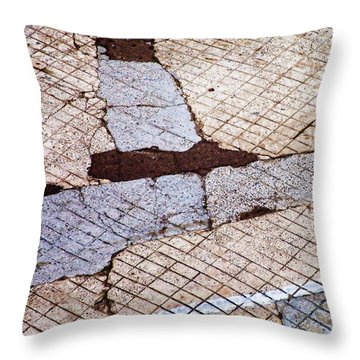 Art In The Street 2 Throw Pillow by Carol Leigh