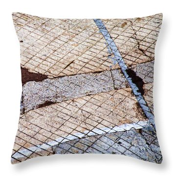 Art In The Street 3 Throw Pillow by Carol Leigh