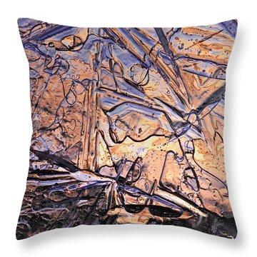 Art Of Ice 2 Throw Pillow