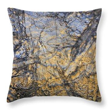 Art Of Ice 3 Throw Pillow by Sami Tiainen
