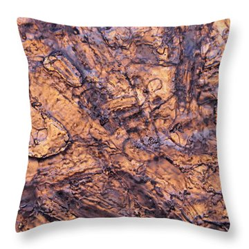 Art Of Ice Throw Pillow