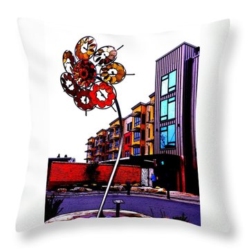 Art On The Ave Throw Pillow by Sadie Reneau