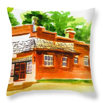 Art Studio Throw Pillow by Kip DeVore