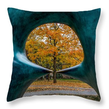 Art X 3 Throw Pillow