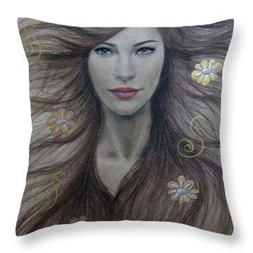 Artemis Throw Pillow by Lynet McDonald