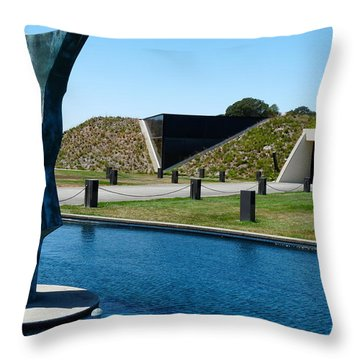 Artesa Winery Throw Pillow
