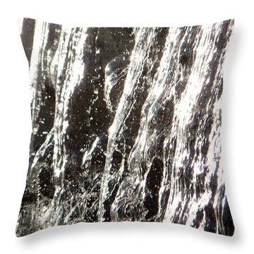 Artificial Waterfall Throw Pillow