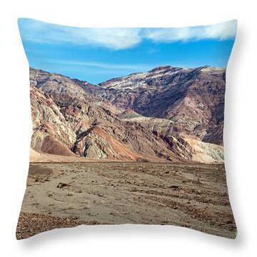 Artist Drive Death Valley National Park Throw Pillow