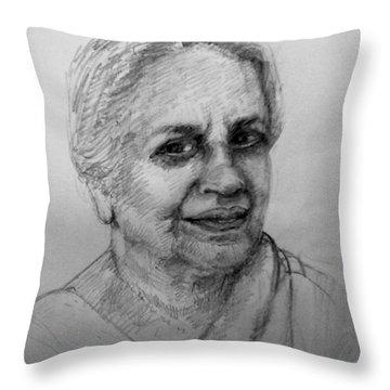 Artist Friend Throw Pillow