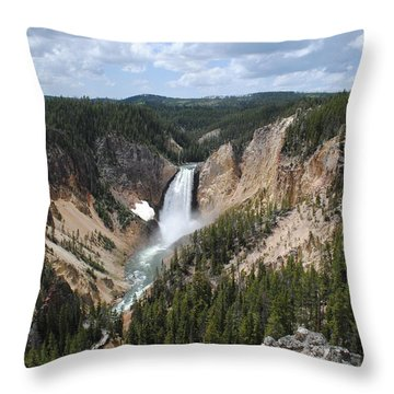 Artist Point II Throw Pillow