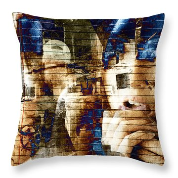 Artistic Note Throw Pillow