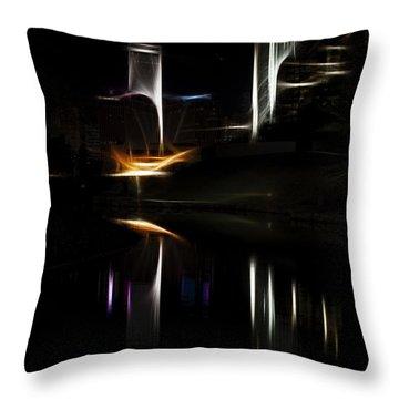 Artistic Omaha Throw Pillow