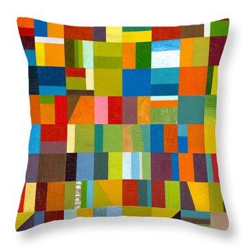 Artprize 2012 Throw Pillow by Michelle Calkins