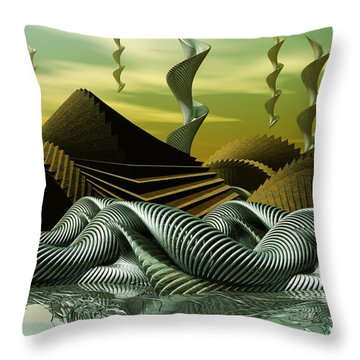 Artscape Throw Pillow