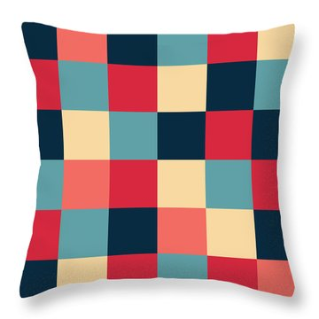 Throw Pillow featuring the digital art Artwork Pattern by Mike Taylor
