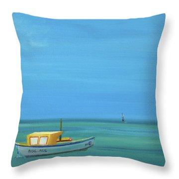 Aruba Throw Pillow by Donna Tuten