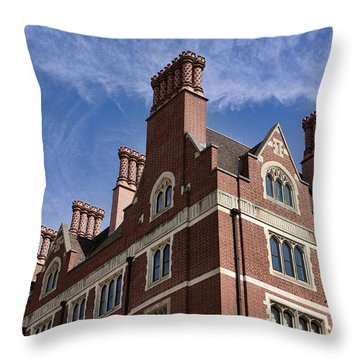 Arundel House Throw Pillow by Nicky Jameson